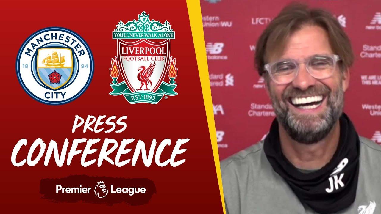Jürgen Klopp's pre-match press conference   Manchester City