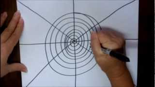 How To Draw A Spider In A Web Step By Step Drawing For Kids