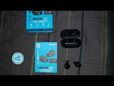 JLAB JBUDS AIR truly wireless earbuds unboxing