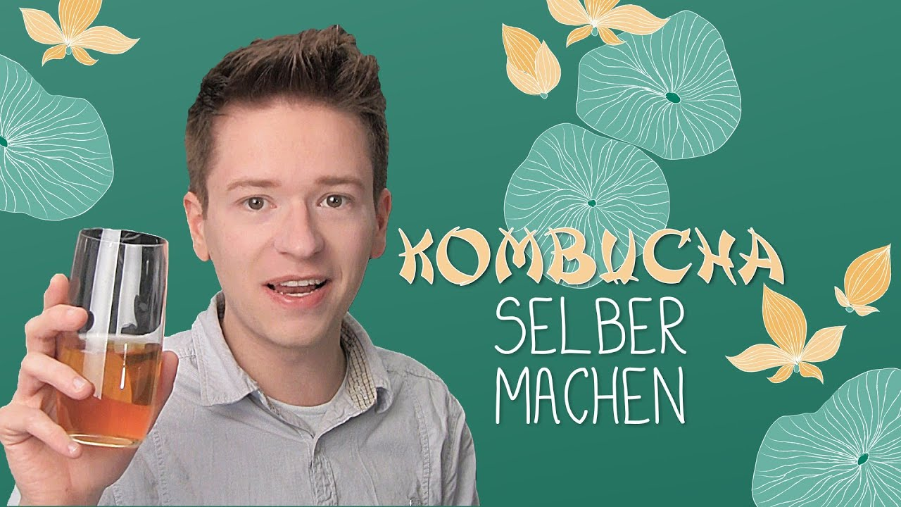 lecker gesund kombucha selber machen youtube. Black Bedroom Furniture Sets. Home Design Ideas