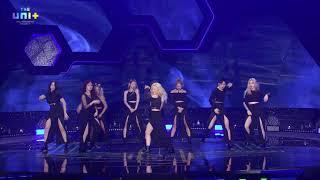 The Unit 더유닛  Unit G Team Blue 파랑조 - 미쳐 Crazy  Euna Kim 💖 유나킴🎶🐬