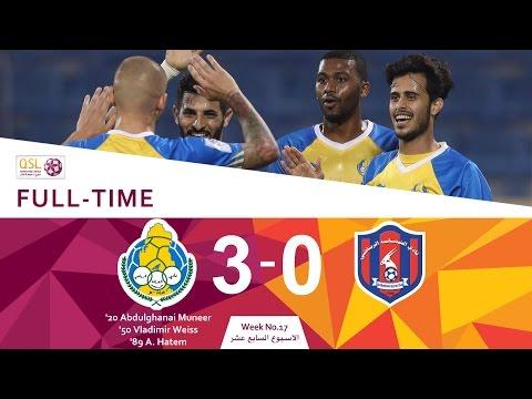 Al Gharafa 3 - 0 Al Shahania (Week 17)