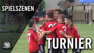 FC Spartak Trnava - Stuttgarter Kickers (Halbfinale, Mainova U13-Junioren Cup) - Spielszenen