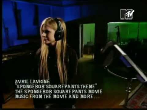 Avril Lavigne - Spongebob Squarepants Theme Movie 2004