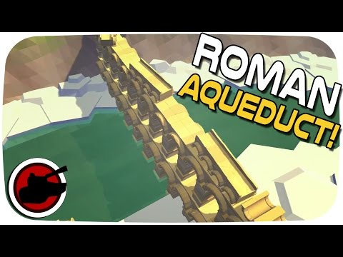 Monumental Failure ► The Roman Aqueduct and Temple Build! - Let