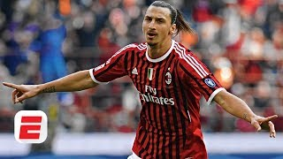 Espn fc's gab marcotti, steve nicol and shaka hislop react to zlatan ibrahimovic's claim that he could score 20 goals in serie a amidst his links ac milan...