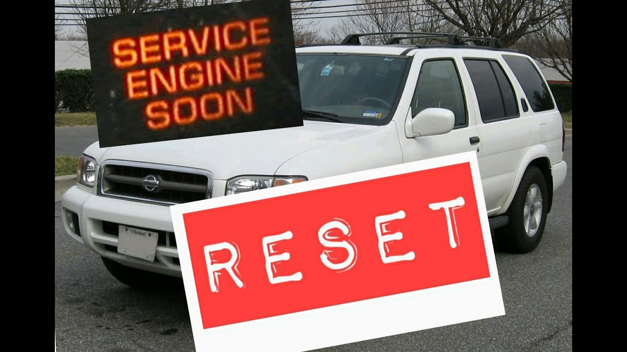 2001 Nissan Xterra Service Engine Soon Light Reset