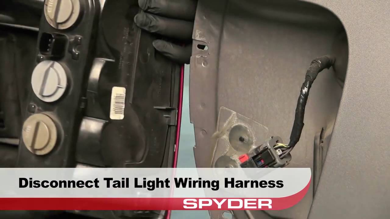 Spyder Auto Installation 19992004 Jeep Grand Cherokee LED Tail – Jeep Wk Tail Light Wiring