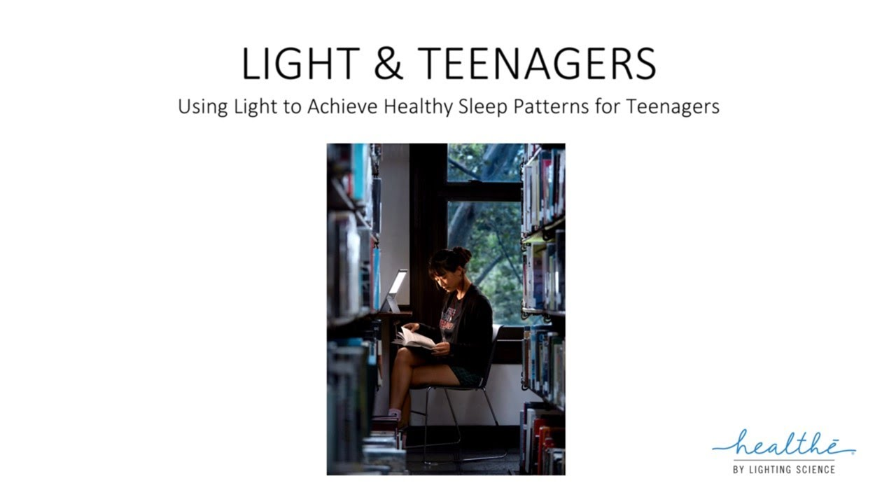 Light and Teenagers with Dr. Steven Lockley