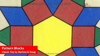 Pattern Blocks And Boards By Melissa & Doug 29