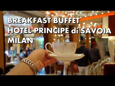 BEST HOTEL BREAKFAST BUFFET IN ITALY - Milan's Principe di Savoia