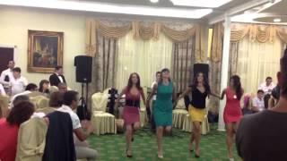 Русско-армянская свадьба: Кочари-Катюша. М.К.А.Д. (Маргарита, Карина, Алина, Диана)