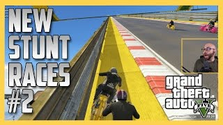 More NEW GTA Stunt Races #2 - RACISM ALERT. | Swiftor