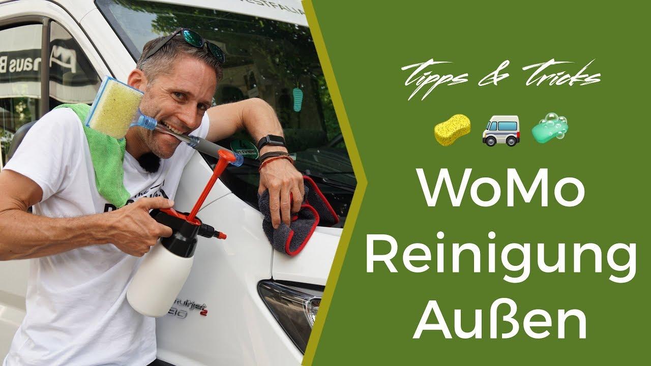 Wohnmobil Außen Reinigen - Tipps und Tricks von fan10van