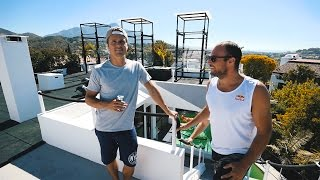 WHEN OLYMPIC CHAMPIONS COMES BY   VLOG 61