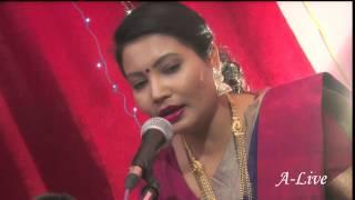 Avagha Rang Ek Zala | Kanchan Raut | Marathi Abhang | Live Session| A-Live| Kishori Amonkar