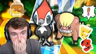 Pokemon Sun & Moon - E3 First Look / Trailer - NEW POKEMON! - GameboyLuke Reaction!