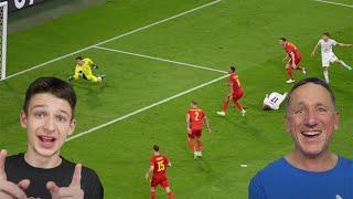 BELGIUM 1 2 ITALY REACTION EURO 2020