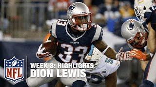 Dion Lewis Highlights (Week 8) | Dolphins vs. Patriots | NFL