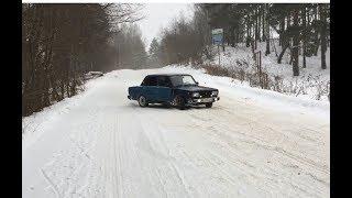 Жига зимой может))))жесть боком