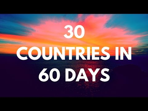 30 Countries in 60 Days