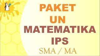 No.1-5 UN Matematika IPS SMA/MA