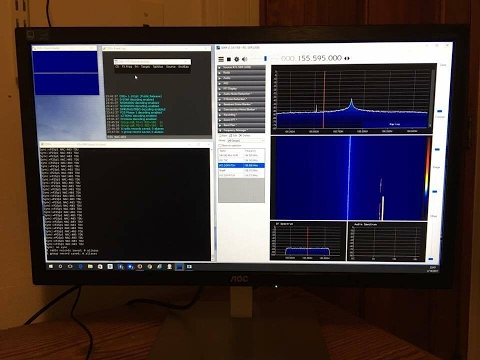 Decoding P25 Phase 1 With RTL SDR and SDRSharp Full Walk Thr