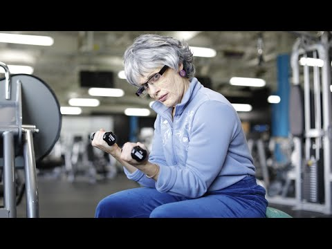 I WENT TO THE GYM AS YOUR GRANDMA 👵 BTS at Bodybuilding.com