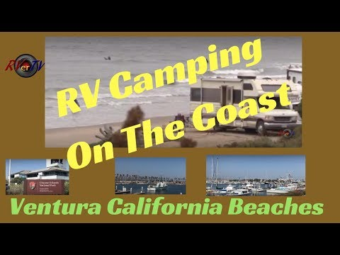 RV Camping On The Coast...Ventura Ca Beaches... Pacific Ocean..Boondocking On The Ocean...RV Life