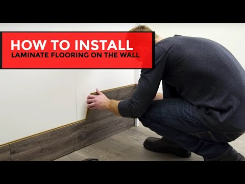 How To Install Laminate Flooring On The, How To Put Laminate Flooring On Walls