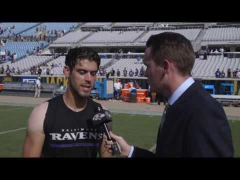 Justin Tucker Talks Emotions Of Game Winner | Walk-Off Interview | Baltimore Ravens