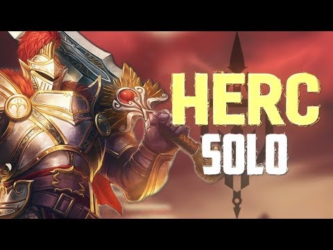 Hercules Ranked Solo: CAN HERCULES AND RAIJUN CARRY BY THEMSELVES?? - Incon - Smite