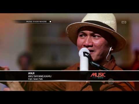 Anji - Aku Sayang Kamu - Tribute to Iwan Fals (Live at Music Everywhere) **