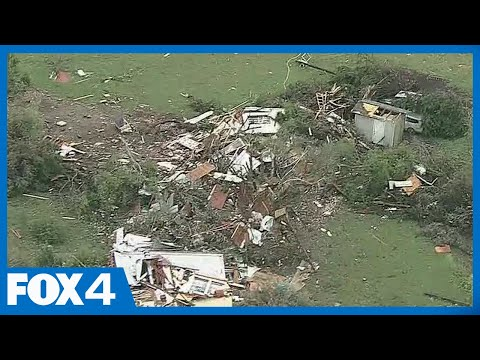 Tornadoes leave a trail of damage in Hill and Ellis counties