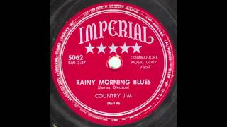 Country Jim - Rainy Morning Blues (Imperial 5062, IM-146)