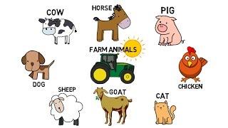 Farm Animals, vocabulary