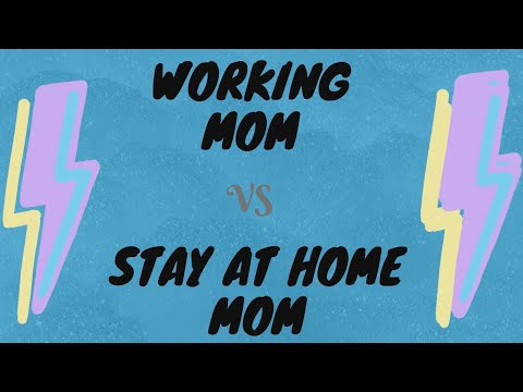 Mom wars: Which is harder, being a working mom or a stay at home mom?. http://bit.ly/2Q6cQQf