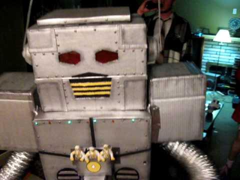 Robot Halloween Costume