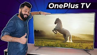 OnePlus 4K TV U Series Unboxing & First Impressions ⚡⚡⚡ Best 4K Premium TV Under 50000?