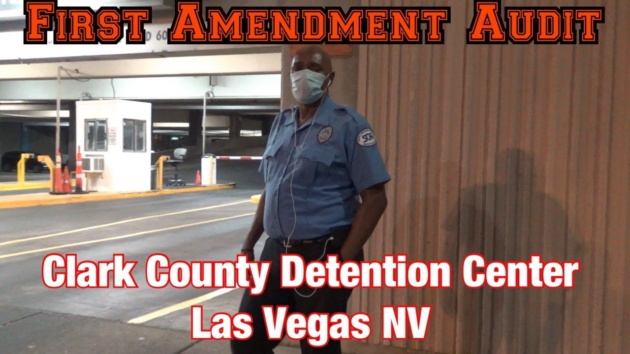 1st Amendment Audit Clark County Detention Center *Conversation With Security Guard