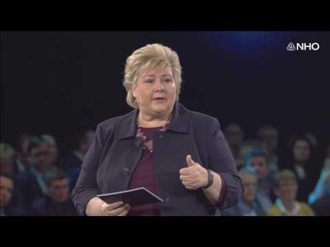 Erna Solberg: Grønt, smart og nyskapende - fremtidens konkurransekraft