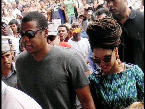 Jay-Z and Beyonce in Cuba