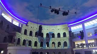 Видеомэппинг  в ТРК Вегас Кунцево(17.3.18)