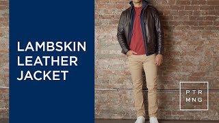PMNYC Leather Jacket   Leather Jackets for Short Men