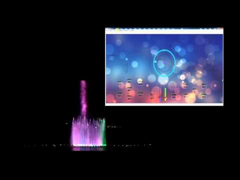 music fountain and music fountain control software