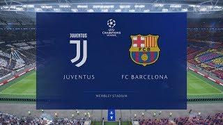 FIFA 19 | JUVENTUS VS BARCELONA | UEFA Champions League Final | Gameplay PC