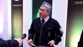 Блюда от MISATO на  вручении премии Лавровый лист-2011