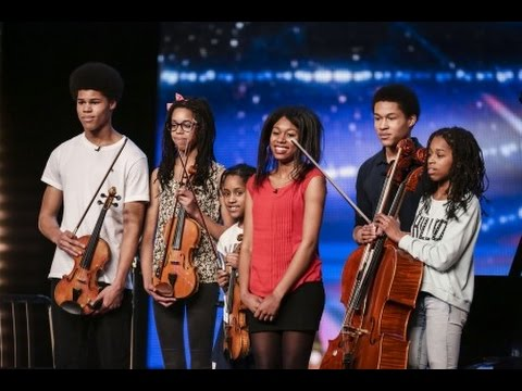 BGT 2015 AUDITIONS -THE KANNEH MASONS