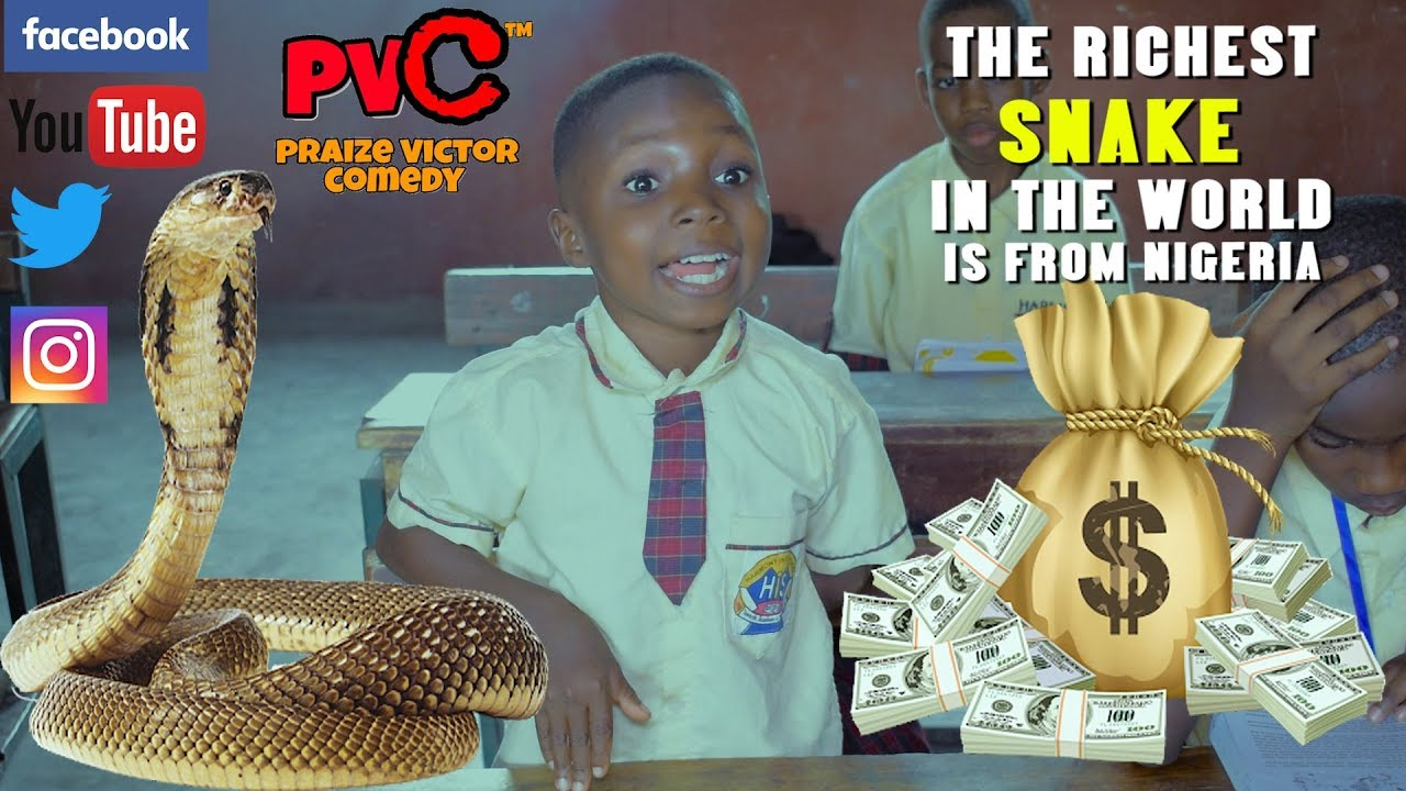 Download THE RICHEST SNAKE IN THE WORLD IS FROM NIGERIA ( PRAIZE VICTOR COMEDY)