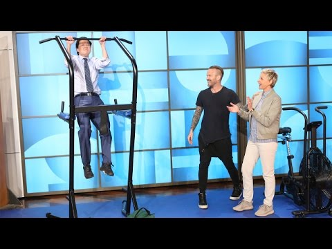 Bob Harper Reveals How Ellen Stays Fit - YouTube